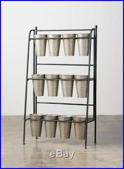 12 Bin Flower Vase Display Stand