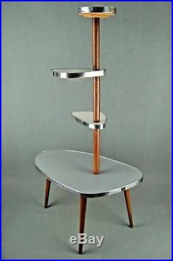 1950s PLANTSTAND Mid Century Danish Modern Plant Stand Vintage Eames 60s 70s