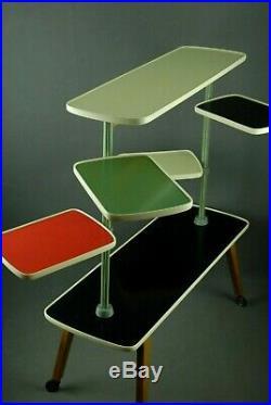 1960s PLANTSTAND Mid Century Danish Modern Plant Stand Vintage Eames 50s 70s Era