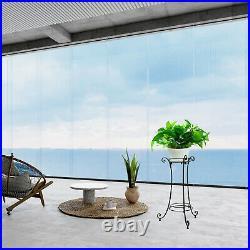 2 Pack Metal Tall Plant Stand Flower Pot Holder Display Shelf Outdoor Art Black