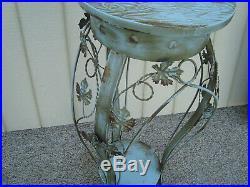 60154 Metal Decorator Plant Pedastal Garden Stand