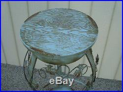 60154 Metal Decorator Plant Pedestal Garden Stand