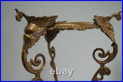 Antique Brass Jardiniere Plant Stand Display Stand