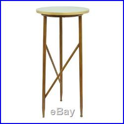 Attractive Wood Metal Pedestal