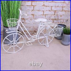 Belura Large Bicycle Planter Garden Patio Ornament Home Decor