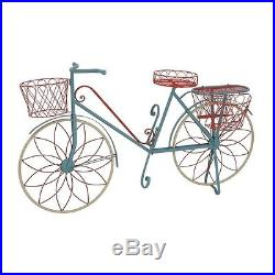 Benzara 28946 The Ingenious Metal Bicycle Plant Stand-28946 New