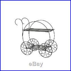 Bicycle Flower Cart Pot Plant Wedding Love Garden Yard Decor Planter Stand Metal