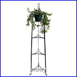 Enclume Kitchen Furniture 4-Tier Plant Stand, Hammered Steel PS4HS