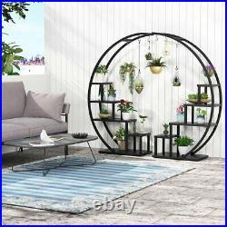 Flower Plant Stand Indoor Pots Stander Decorative Plant Holder Shelf Set of 2 US