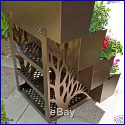 Garden Metal Planter Moveable Box Strawberries/Vegetables/Flowers/Plants/Herbs