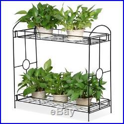 Garden Plant Stand Classic Home Indoor Outdoor Terrace Balcony Flower Pedestal