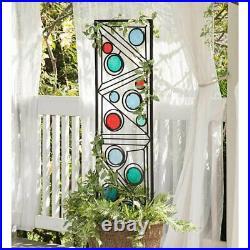 Geometric Tall Trellis Metal Glass Metal Glass Arch Climbing Plants Panel Decor