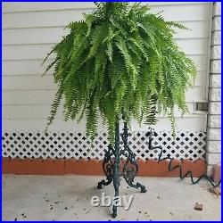 Heavy Duty Cast Iron Fern Potted Plant Stand Flower Pot Holder Planter Rack