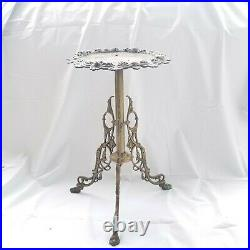 Heavy Duty Solid Brass Fern Potted Plant Stand Flower Pot Holder Planter Rack