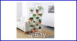 IKEA SOCKER Plant Flower Pot Stand Room Divider Herbs Kitchen Porch White New