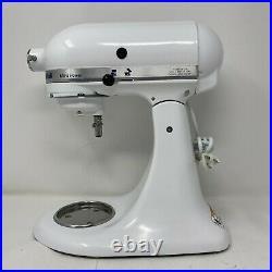 KitchenAid KSM90 300W Ultra Power White Stand Mixer w Bowl Attachments WORKS