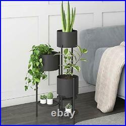 Metal Plant Stand 6 Tier 6 Potted Indoor Outdoor Flower Pot Stand Holder Shel