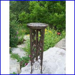 Oakland Living Grape Interlocking Plant Stand, Antique Bronze 5026-AB