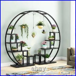 Plant Stand Shelf Unit Storage Rack Outdoor Indoor for Living Room Garden 2 Set