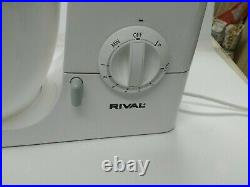 RIVAL Kenwood Select Chef Counter Stand Mixer KM210Works Great! Excellent Condit