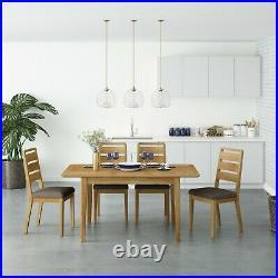 Retro Oak Lamp Table / Scandi 1 Drawer Side Unit End Table Plant Stand Bedside