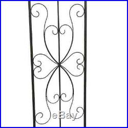 Rose Archway, Rosen-Spalier, Romantic Vintage Rose Archway from Metal