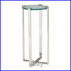 Sterling Industries Metal and Glass Uptown Plant Stand 6041037