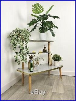 Stunning True Vintage Plant Stand, Mid Century Modern, Retro DC55+