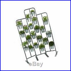 Tall Metal Plant Planter Stand 20 Tiers Display Plants Indoor or Outdoors on