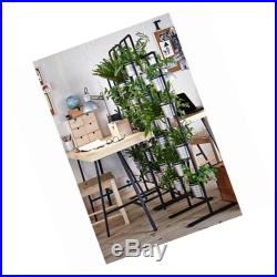 Tall metal plant planter stand 20 tiers display plants indoor or outdoors on a