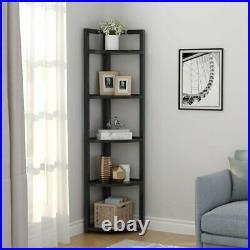Tribesigns 5 Tier Bookshelf Storage Rack Plant Stand Storage Rack Knickknacks