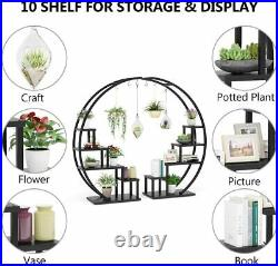 Tribesigns 5-Tier Plant Stand, Display Shelf Pack of 2, Bonsai Flower Pot Holder