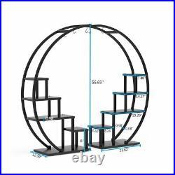 Tribesigns Multi-functional Plant Stand Rack Ladder Shelf Design Pot Holder 2Set