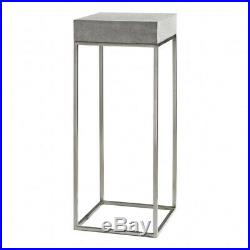 Uttermost-24806-Jude Plant 36 Industrial Modern Plant Stand