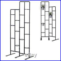 Vertical Metal Plant Stand 13 Tiers Display Plants Indoor or Outdoors on Balcony
