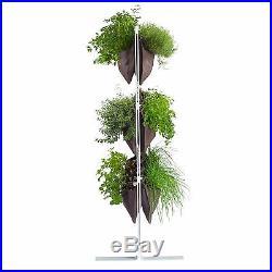 Vertical garden herbs growing kits Deco 24 + Coco peat growing media