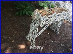 Victorian Cast Iron Grape Vine Plant Stand Planter Urn CAPE COD PICKUP