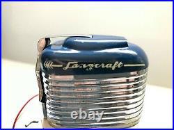 Vintage 1950's Langcraft (not K&O) Toy Outboard Motor All Original WORKS stand