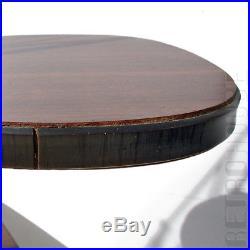 Vintage Indoor Plant Stand Table String Shelf Brown Black 50s Mid-Century Modern