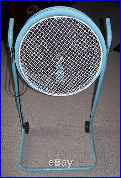 Vintage Westinghouse Model AM17-6 Industrial Metal 2 Speed Fan Floor Stand Works