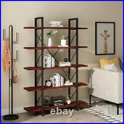 YITAHOME 5 Shelf Storage Display Rack Bookshelf Bookcase Plant Standing Shelving