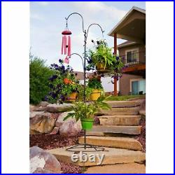 Yard Butler IYT-5 All Steel Indoor Outdoor Adjustable Hanging Garden Yard Tree